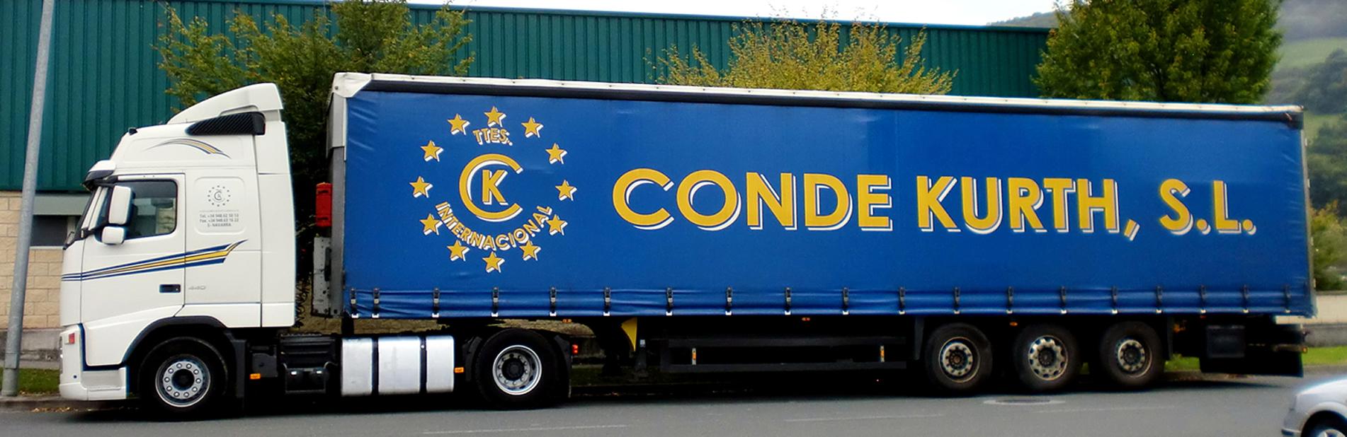 CONDE-KURTH - Verkehr Internationalen Güterverkehr